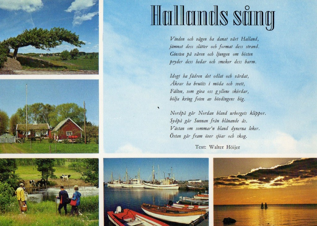 Hallands sång