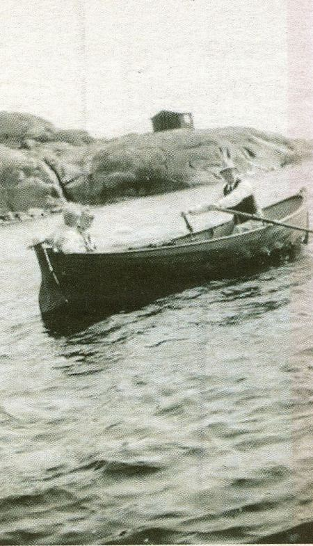 Bengt, Lasse och författaren själv